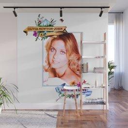 Olivia Newton-John - Long Live Livvy Wall Mural