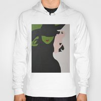 wicked Hoodies featuring Wicked by Sierra Christy Art