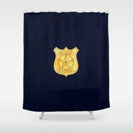 Bad Cop Shower Curtain