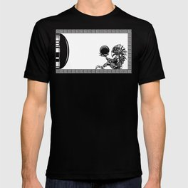 Metroid - The Chozo Geek Line Artly T-shirt