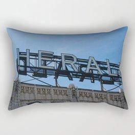 Herald Sign - Bellingham, WA Rectangular Pillow