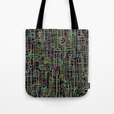 Electro Music Tote Bag