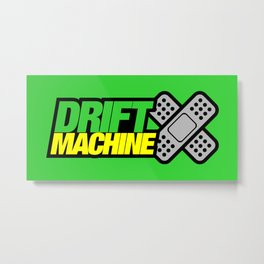 Drift Machine v3 HQvector Metal Print
