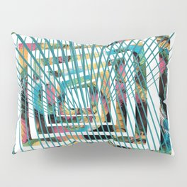 graphic design number 14 by Leslie Harlow Pillow Sham