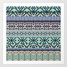 Tribal Pattern #3 Art Print