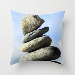 stone tower Throw Pillow