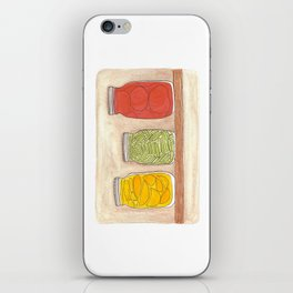 Canning iPhone Skin