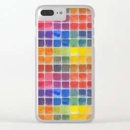 Mix it Up! - Watercolor Mixing Chart Clear iPhone Case