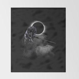 Loyal Wolf Throw Blanket