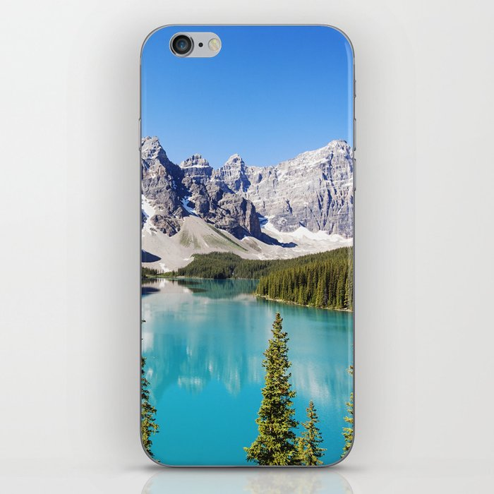 Moraine Lake in Alberta, Canada iPhone Skin