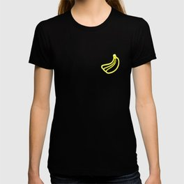 Neon Banana Pocket Summer Fruit Glow Party Costume T-shirt