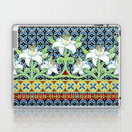 Elizabethan Folkloric Lily Laptop & iPad Skin