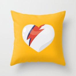 David's Heart Throw Pillow