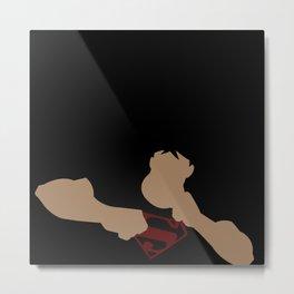 Superboy Minimalism Metal Print