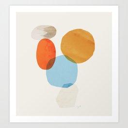 Abstraction_Balance_001 Art Print
