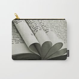 Grey BooK Carry-All Pouch