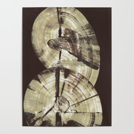 Concentric Log Abstract Poster