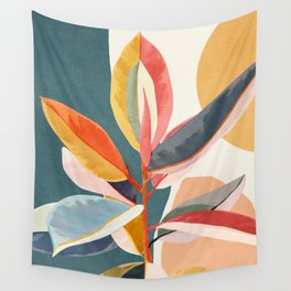 Colorful Branching Out 01 Wall Tapestry