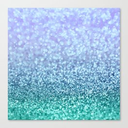 Winter Over Ocean  Canvas Print