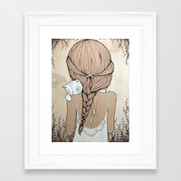 murray Framed Art Prints featuring Stay Close by Kelli Murray