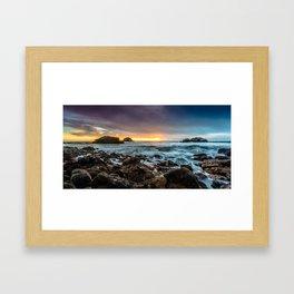 The Heart Rock Framed Art Print