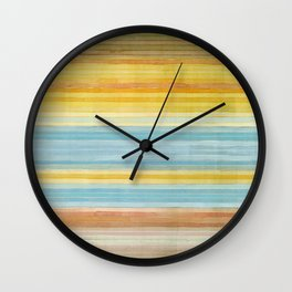 Colorbands Yellowstone Yellow Wall Clock