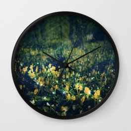 The Magic and the Moonlight Wall Clock