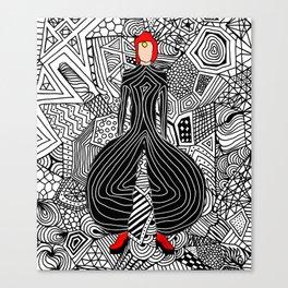 Heroes Fashion 6 Canvas Print