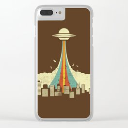 UFO Clear iPhone Case