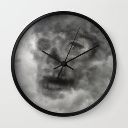A Storm is Coming Wall Clock
