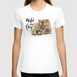 Tiger Wild and Free T-shirt