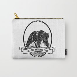 Glacier National Park Emblem Carry-All Pouch