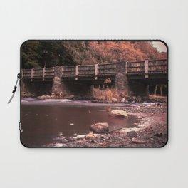 Lehigh Parkway Robin Hood Bridge - Impressionism Laptop Sleeve