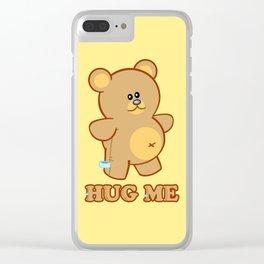 Hug Me! Clear iPhone Case