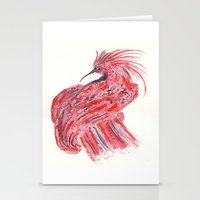 phoenix Stationery Cards featuring phoenix by echoes