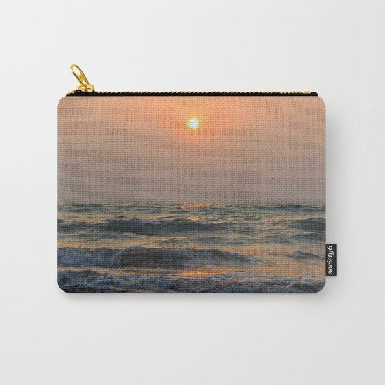 Sunset over the sea. Carry-All Pouch