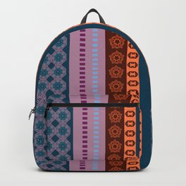 Ethnic Andean Peruvian Textile Pattern Backpack