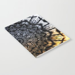 Touch of golden glow Notebook