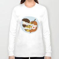 nan lawson Long Sleeve T-shirts featuring Music Is All Around by Nan Lawson