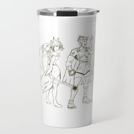 Dungeon& Keys Travel Mug