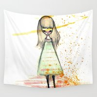 sister Wall Tapestries featuring Sister by solocosmo