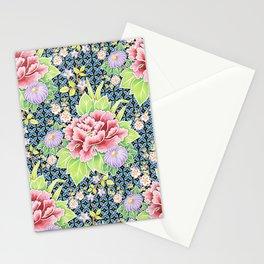 Kimono Bouquet Brocade Stationery Cards