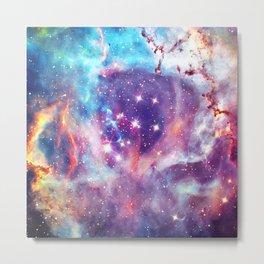 Shine Art Of Galaxy Metal Print