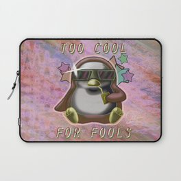 Too Cool for Fools v02 Laptop Sleeve