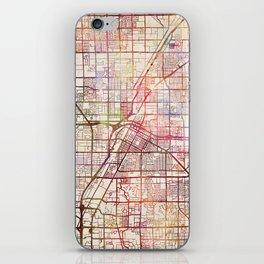 Las Vegas map 2 iPhone Skin