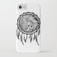 dream catcher iPhone & iPod Cases featuring Dream Catcher by Astrablink7