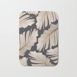 Sepia Banana Leaves Dream #1 #foliage #decor #art #society6 Bath Mat