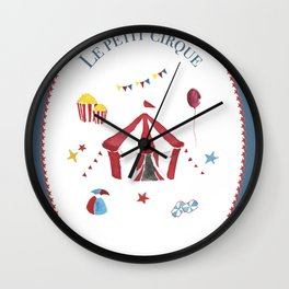 The Little Circus Wall Clock