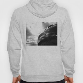 Cloudy Chicago Bean Hoody