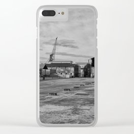Urban Island Exploration Clear iPhone Case